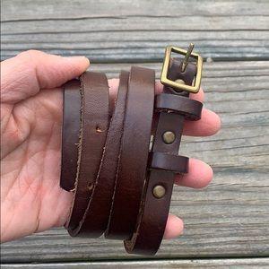 Banana Republic Thin Leather Belt